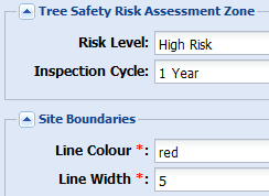 map risk zones example2